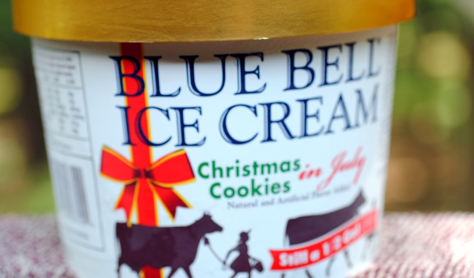 Blue Bell Christmas Cookies  food and ice cream recipes REVIEW Blue Bell Christmas