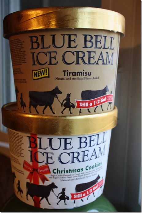 Blue Bell Christmas Cookies  can't leave 'em alone bars
