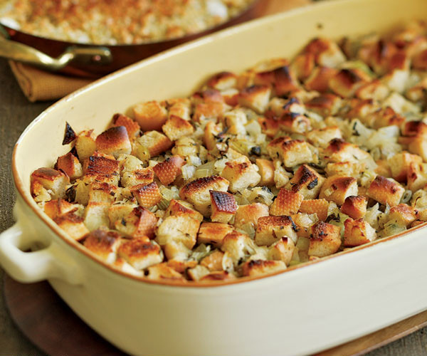 Bread Dressing For Thanksgiving  Classic Bread Stuffing Recipe Recipe FineCooking