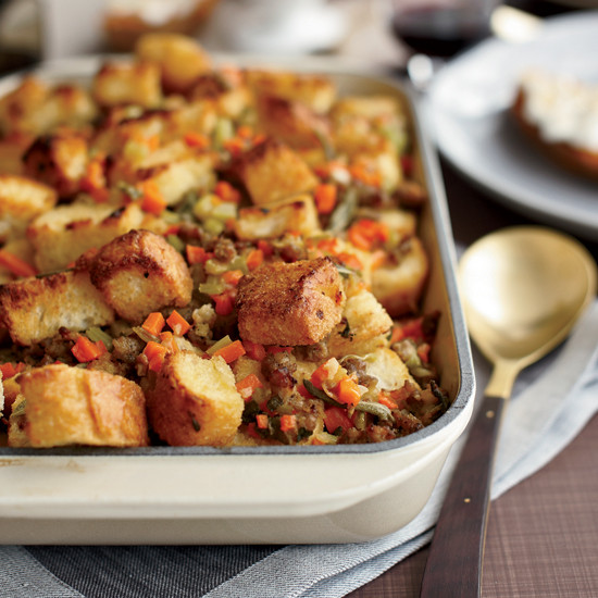 Bread Dressing For Thanksgiving  Thanksgiving Recipes to Make the Day Before