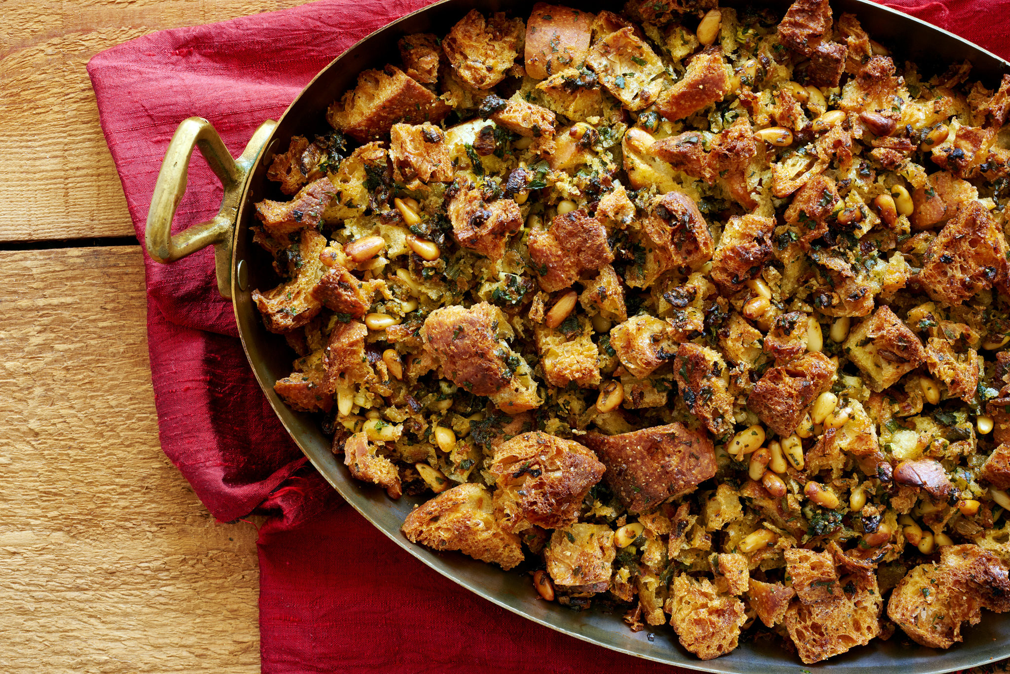 Bread Dressing For Thanksgiving  Bread Stuffing Recipe NYT Cooking