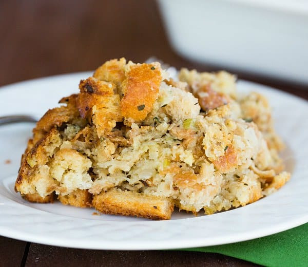 Bread Dressing For Thanksgiving  Traditional Bread Stuffing Recipe