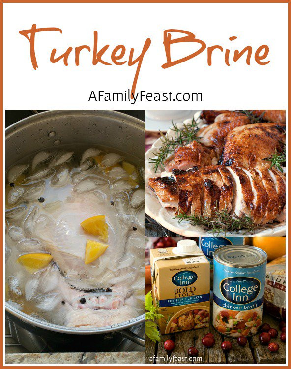 Brining Turkey Recipes Thanksgiving  Turkey Brine Recipe & Thanksgiving Menu Planning A