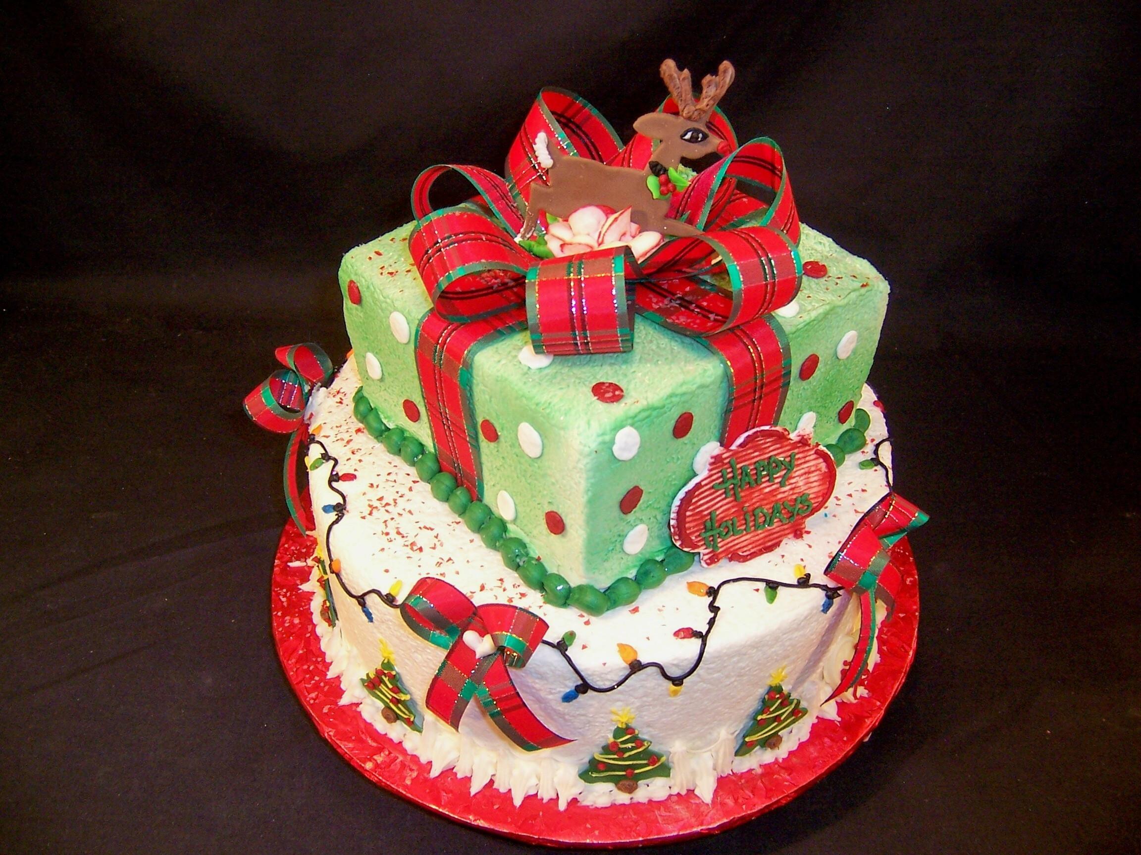Buttercream Christmas Cakes  21 January