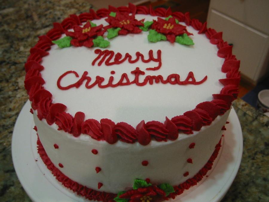 Buttercream Christmas Cakes  Christmas Cake CakeCentral