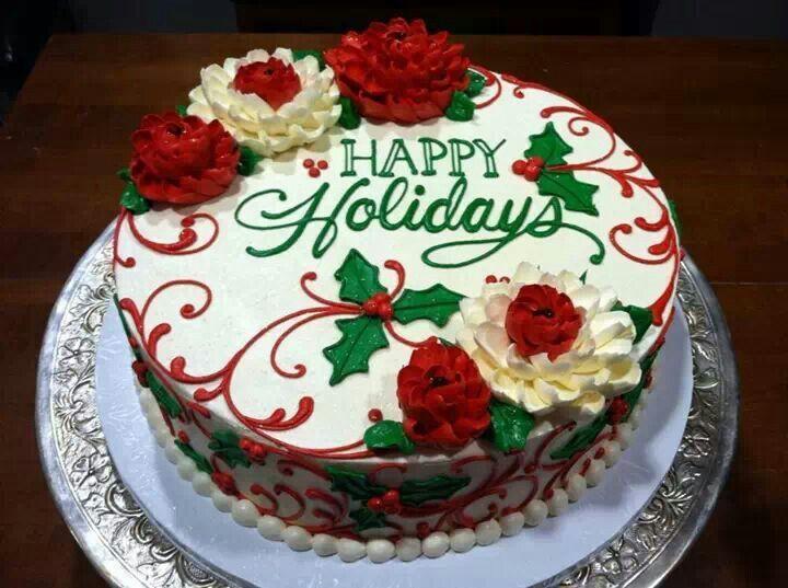 Buttercream Christmas Cakes  11 best Christmas Cake Ideas images on Pinterest