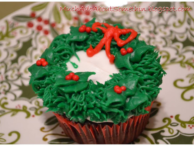 Buttercream Christmas Cakes  Much Ado About Somethin Cake Decorating How To