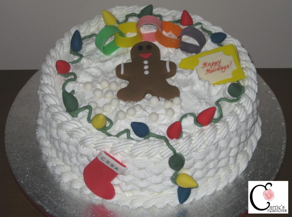 Buttercream Christmas Cakes  Blog September 2010