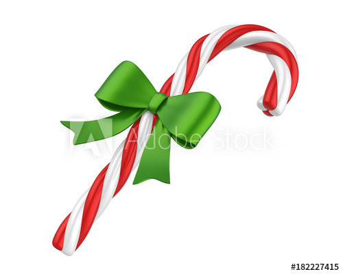 Buy Christmas Candy  Christmas Candy Cane Isolated Buy this stock