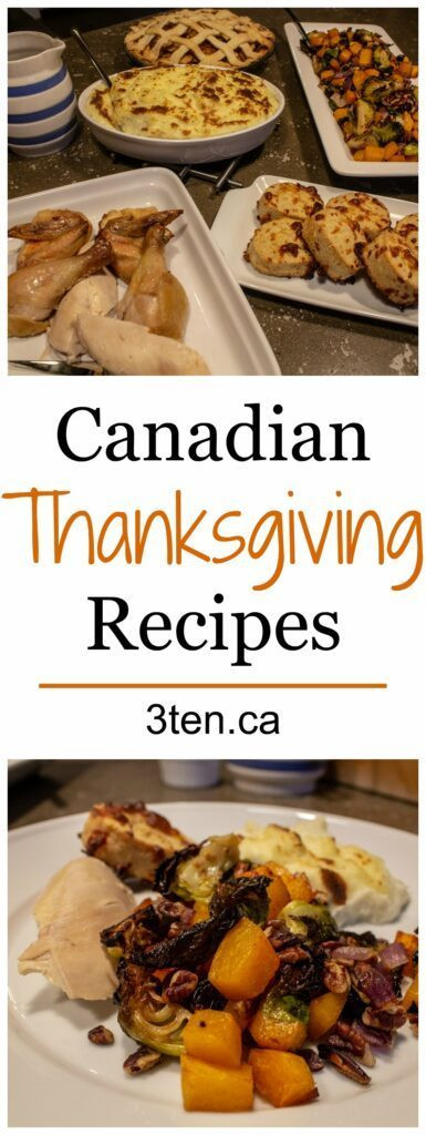 Canadian Thanksgiving Recipes  3ten a lifestyle blog