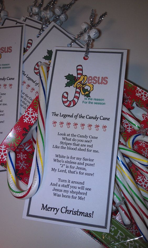 Candy Cane Christmas Poem  Bookmarks Cute bookmarks and Candy canes on Pinterest