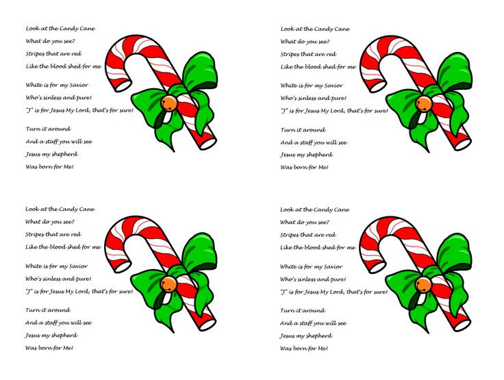 Candy Cane Christmas Poem  17 Best ideas about Candy Poems on Pinterest