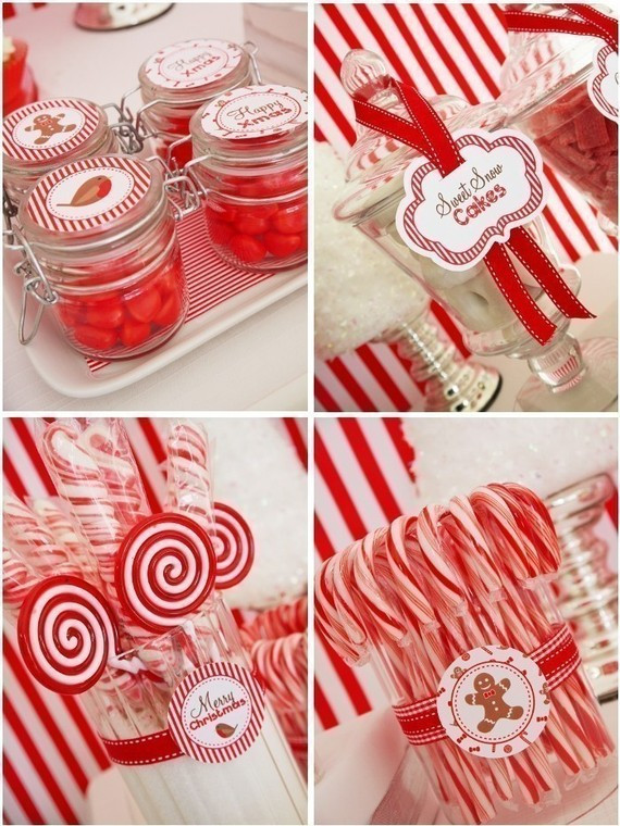 Candy Cane Christmas Shop  Bash Planning Candy Cane Christmas