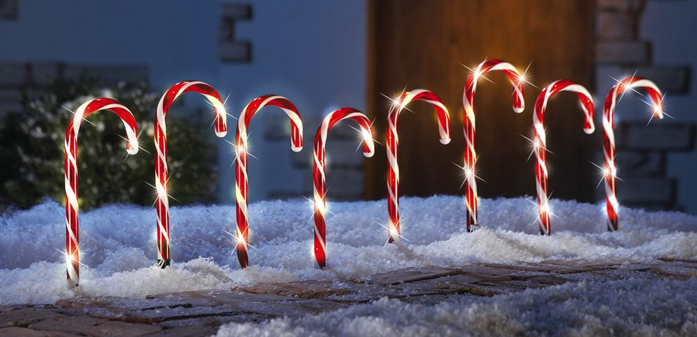 Candy Cane Led Christmas Lights  Decorating Your Home for Christmas Ideas For Using