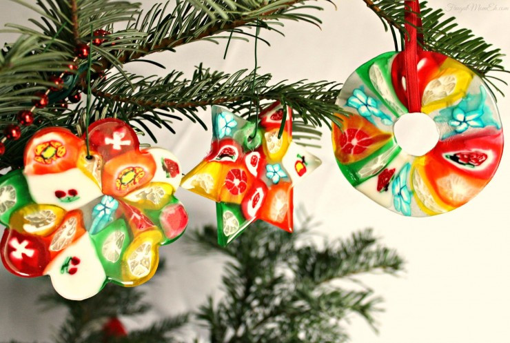 Candy Christmas Ornaments  Christmas Candy Ornaments Frugal Mom Eh