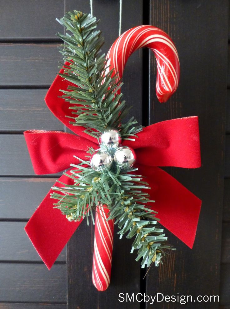 Candy Christmas Ornaments  359 best Creating with Candy Canes images on Pinterest