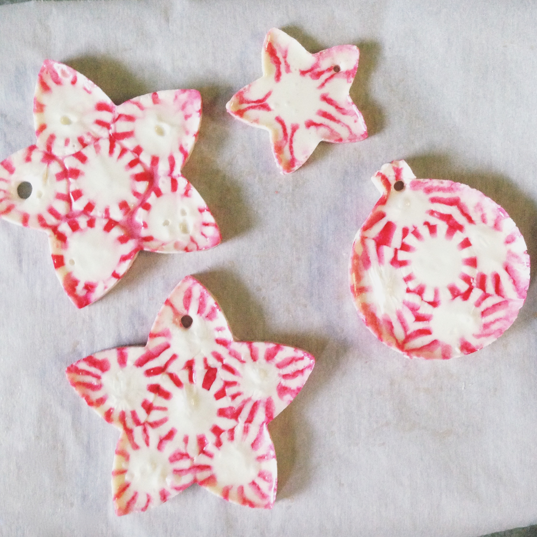 Candy Christmas Ornaments  Peppermint Candy Christmas Ornaments
