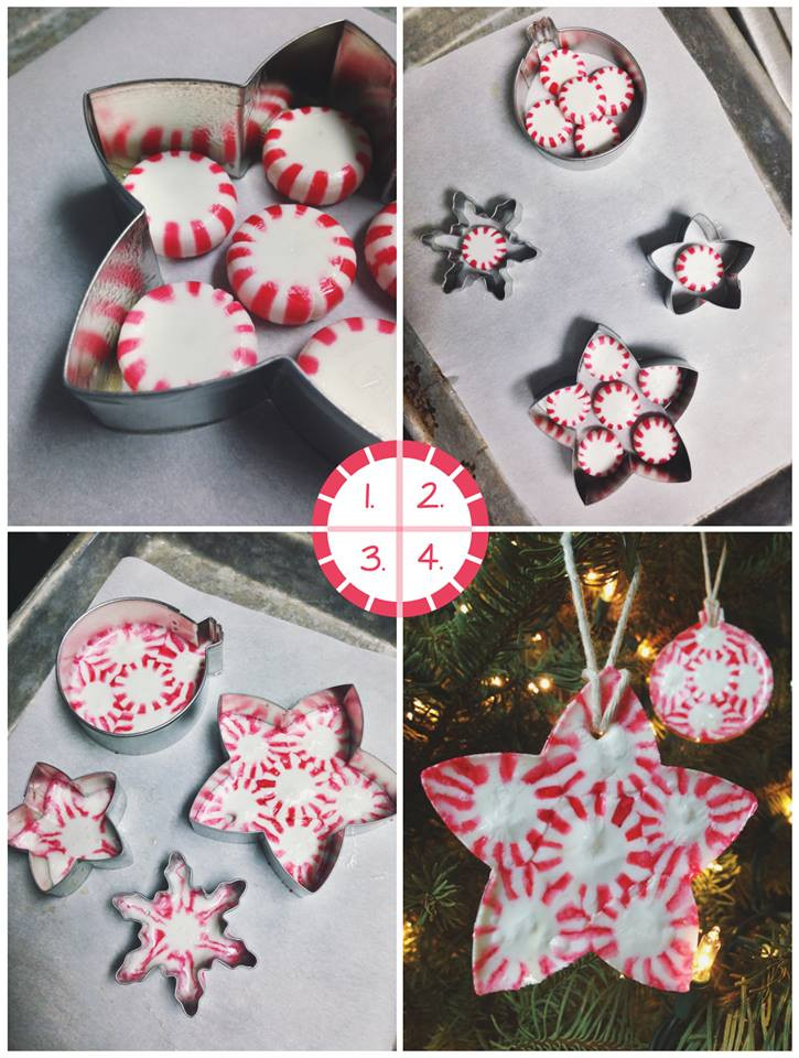 Candy Christmas Ornaments  First Pinterest Review Making Peppermint Candy Ornaments