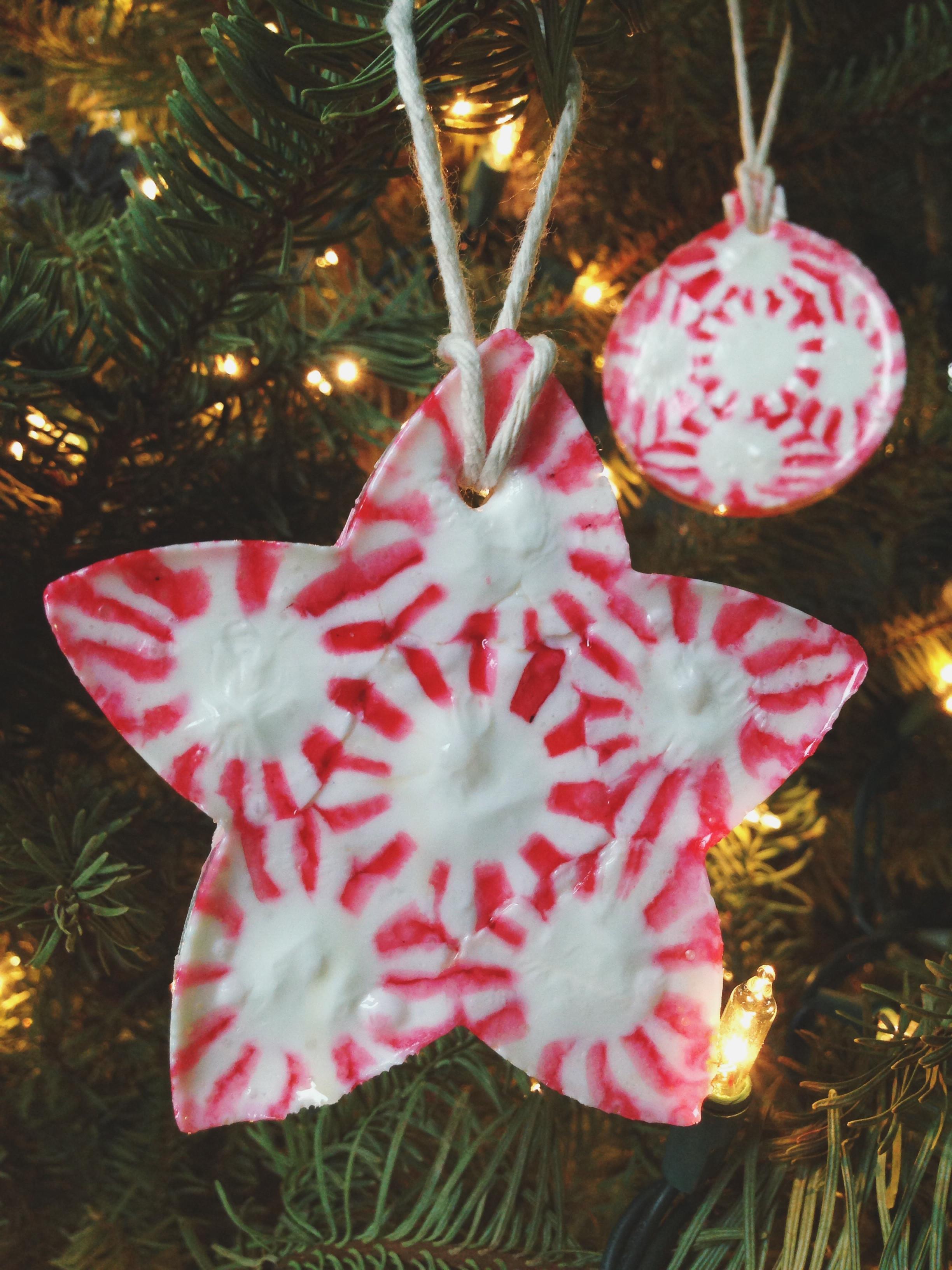 Candy Christmas Ornaments  25 Beautiful Handmade Ornaments