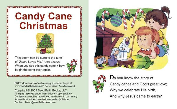 Candy Christmas Songs  Candy Cane Christmas Song
