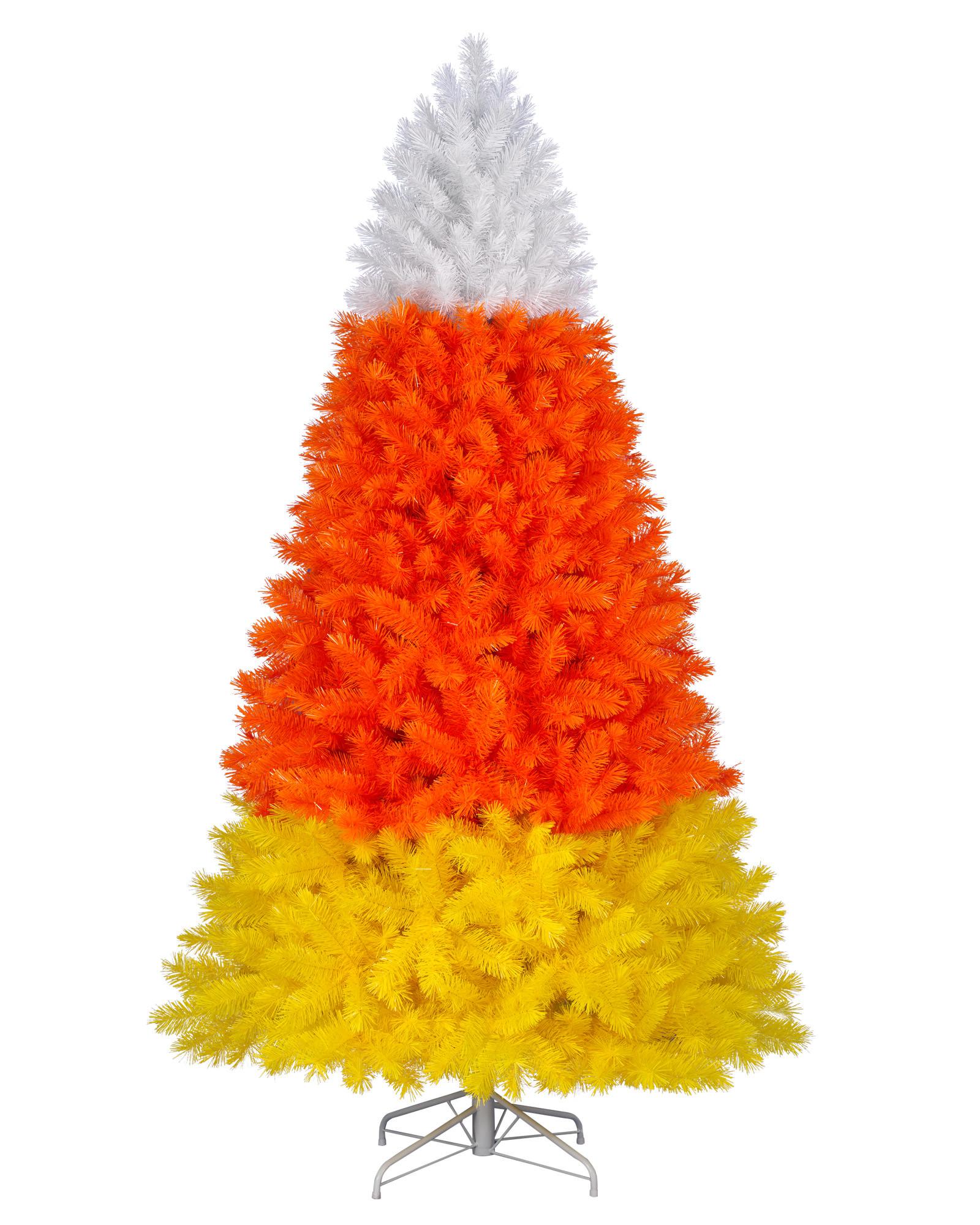 Candy Corn Christmas Tree  Colossal Candy Corn Christmas Tree