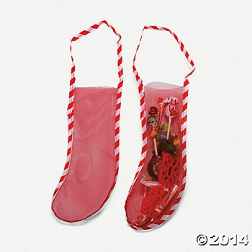 """Candy Filled Christmas Stockings Wholesale  10 18"""" MESH CHRISTMAS STOCKINGS Candy Toy Favor Stockings"""
