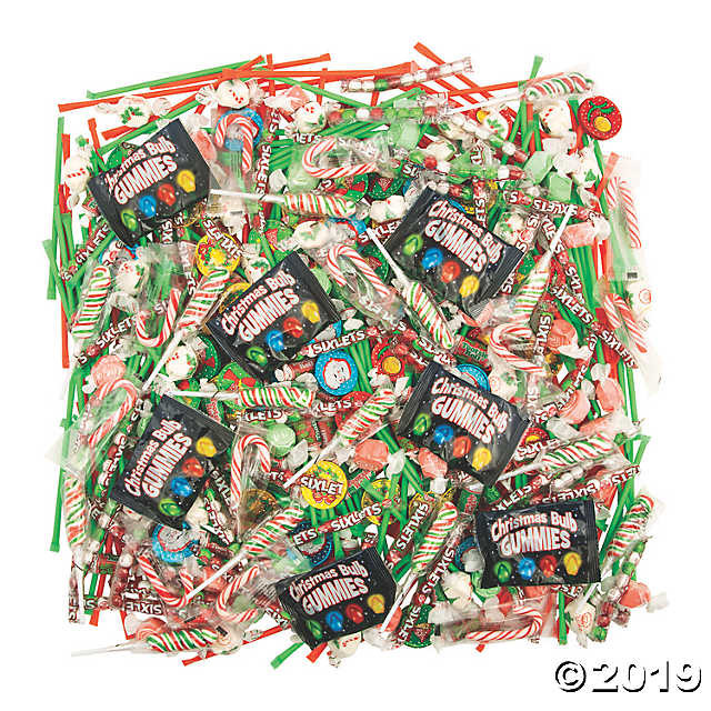 Candy Filled Christmas Stockings Wholesale  Mega Christmas Candy Assortment