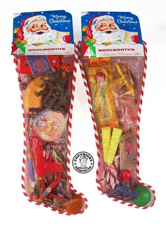 Candy Filled Christmas Stockings Wholesale  Woolworth Christmas stockings