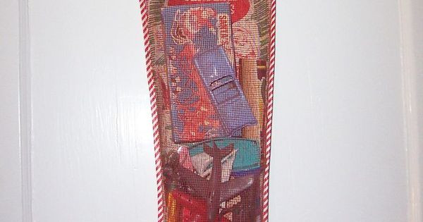 Candy Filled Christmas Stockings Wholesale  Vintage Mesh Christmas Stocking Toys Games Filled Unopened