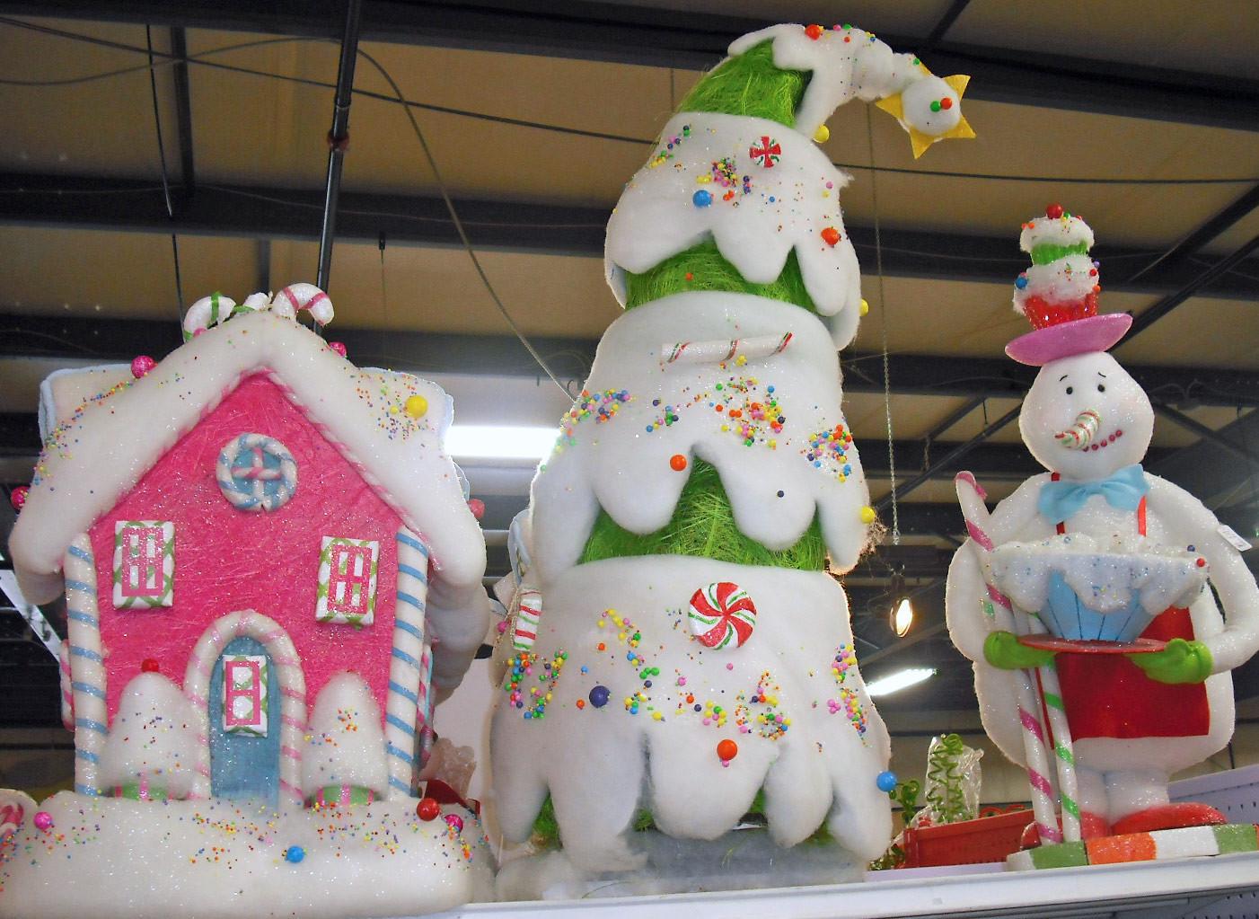 Candy Themed Christmas Ornaments  Studio B UberArt Twelve Days of Christmas Trees Day 10