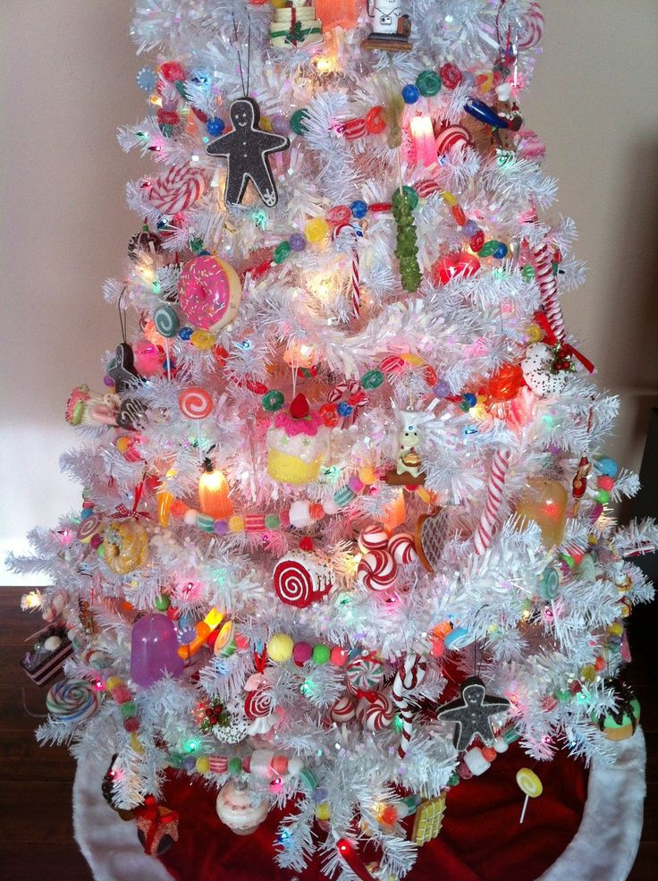 Candy Themed Christmas Ornaments  Yummy and Sweet Christmas Tree Ideas