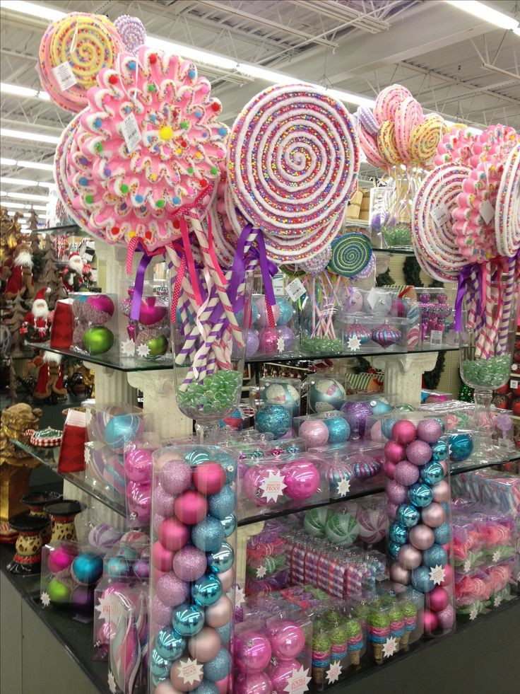 Candy Themed Christmas Ornaments  17 Best ideas about Candy Land Christmas on Pinterest