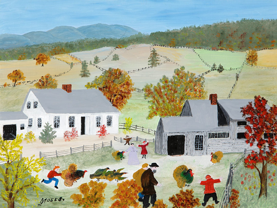 Catching The Thanksgiving Turkey  The Making of Grandma Moses Folk Modernist