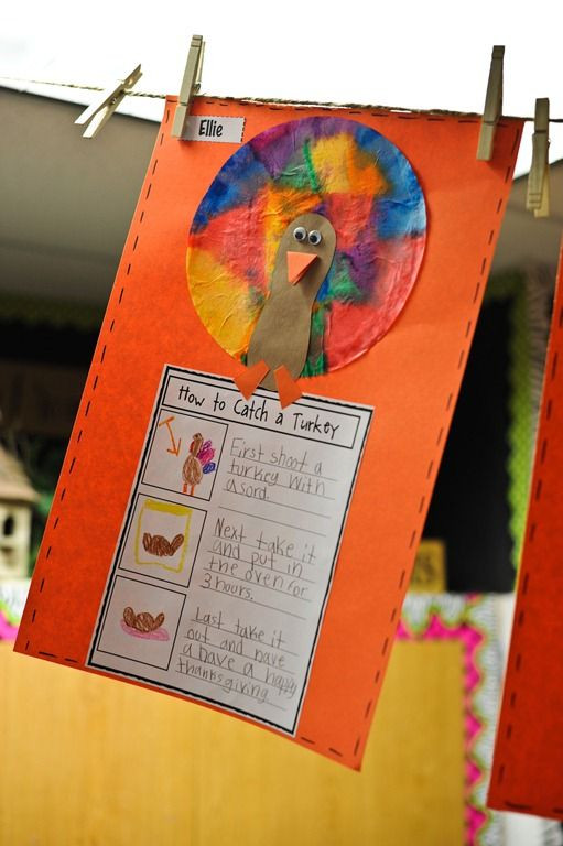 Catching The Thanksgiving Turkey  1000 ideas about Thanksgiving Writing on Pinterest