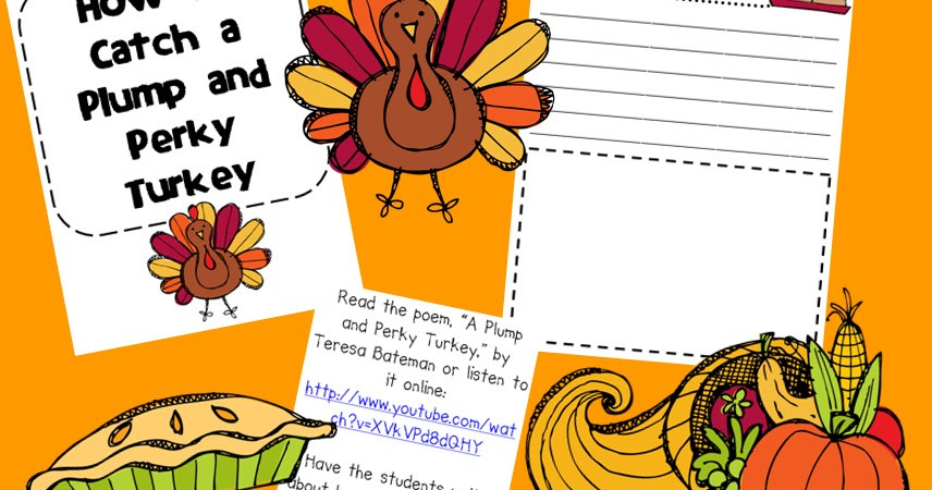 Catching The Thanksgiving Turkey  Classroom Freebies Thanksgiving How To Writing