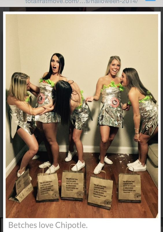 Chipotle Burritos Halloween  Chipotle Costumes and Burritos on Pinterest