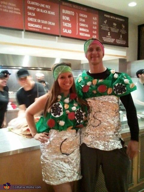 Chipotle Halloween Burritos  10 Coolest DIY Halloween Couples Costumes – Part 2