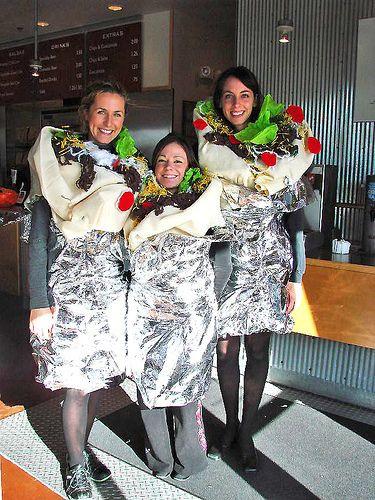 Chipotle Halloween Burritos  Burrito Halloween costumes
