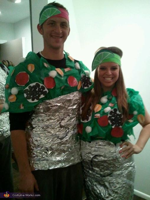 Chipotle Halloween Burritos  Chipotle Burritos Costume