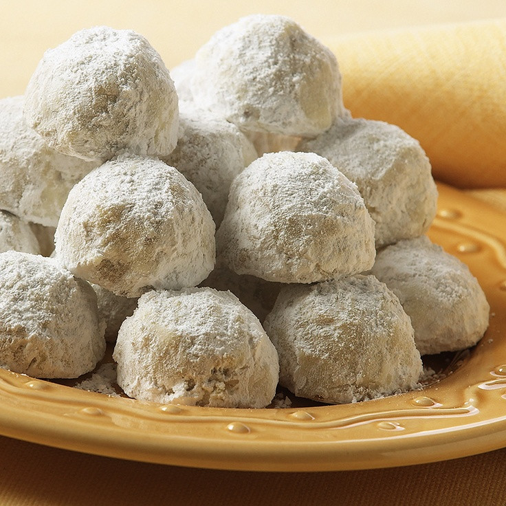 Christmas Ball Cookies Powdered Sugar  17 Best images about Christmas Cookie Exchange on