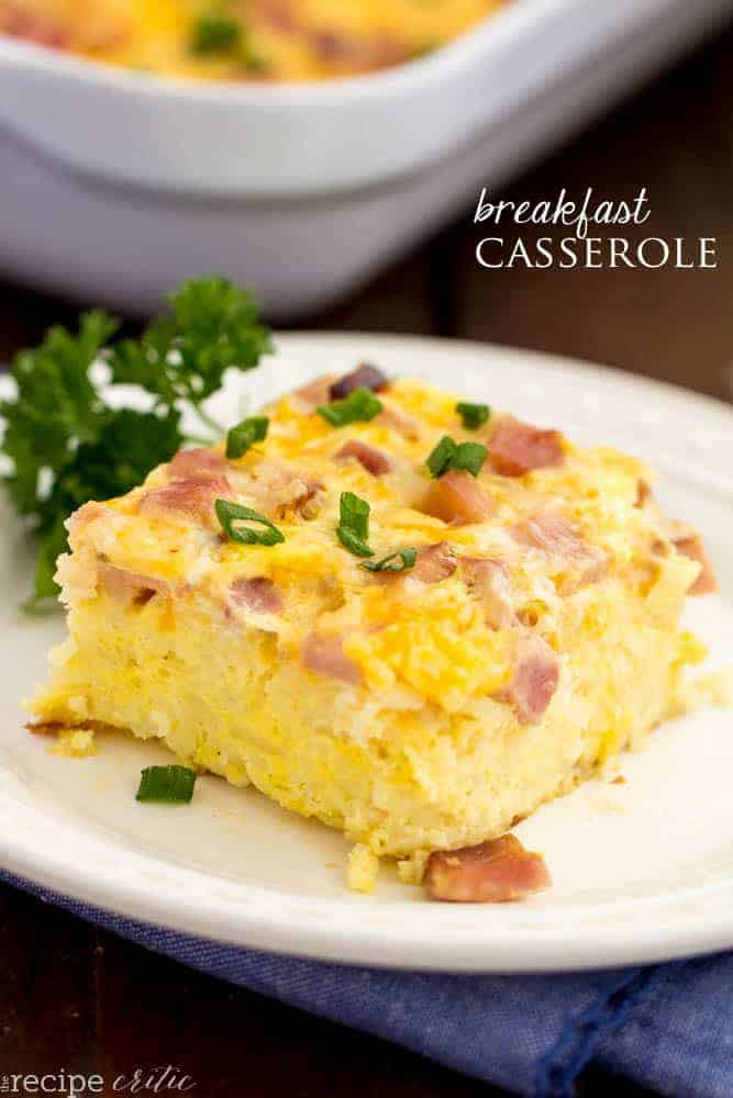 Christmas Breakfast Casseroles Recipes  The Best Breakfast Casserole