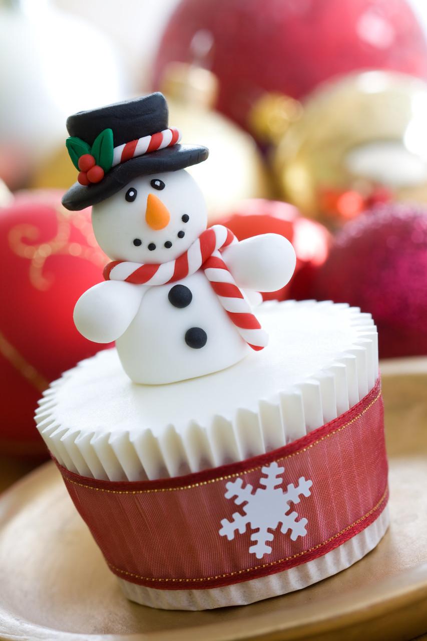 Christmas Cake Cupcakes  Christmas Cupcake Ideas