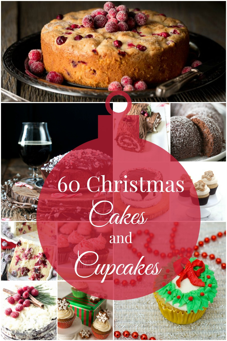 Christmas Cakes Flavors  60 Christmas Cakes and Cupcakes Roundup by The Redhead Baker