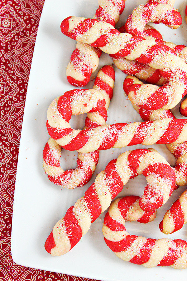 Christmas Candy And Cookie Recipe  Christmas Candy Cane Cookies Recipe Home Cooking Memories