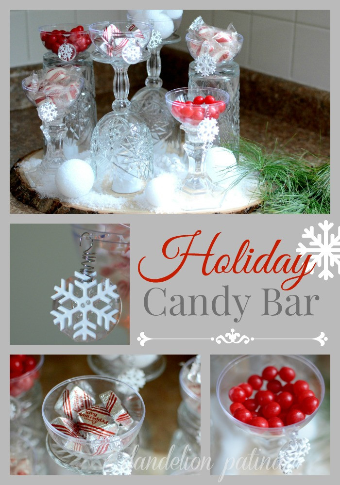Christmas Candy Bar  Christmas In The Country Tour Dandelion Patina
