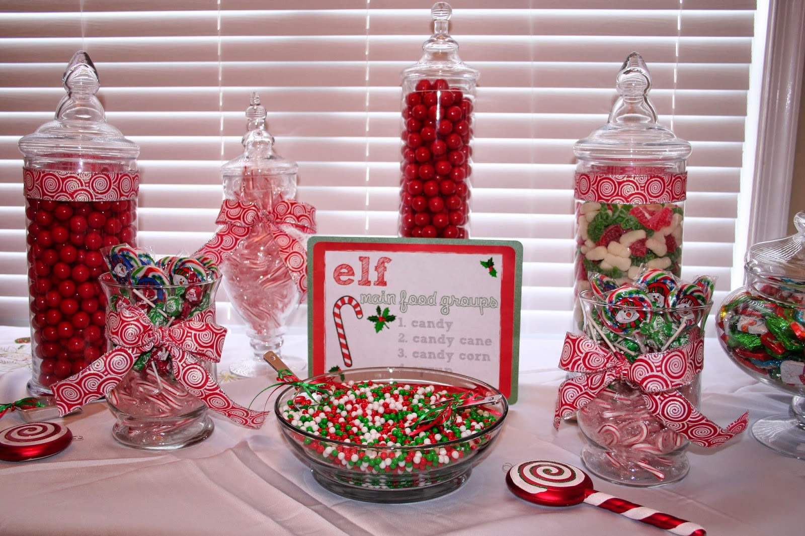 Christmas Candy Bar  Classic Events By Kris Build a Better Candy Bar