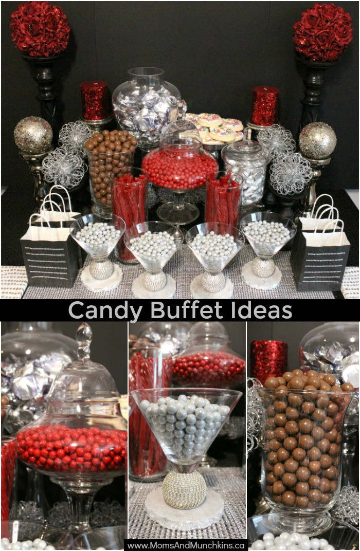 Christmas Candy Bar  Holiday Candy Bar Ideas Moms & Munchkins