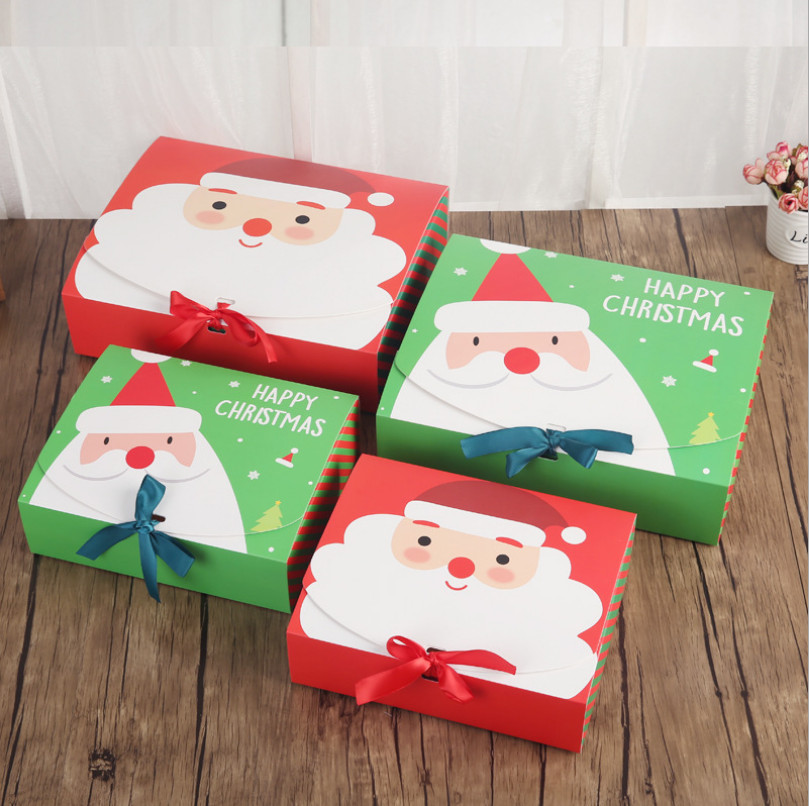 Christmas Candy Boxes  High Quality Xmas Christmas Eve Gift Box Favour Present