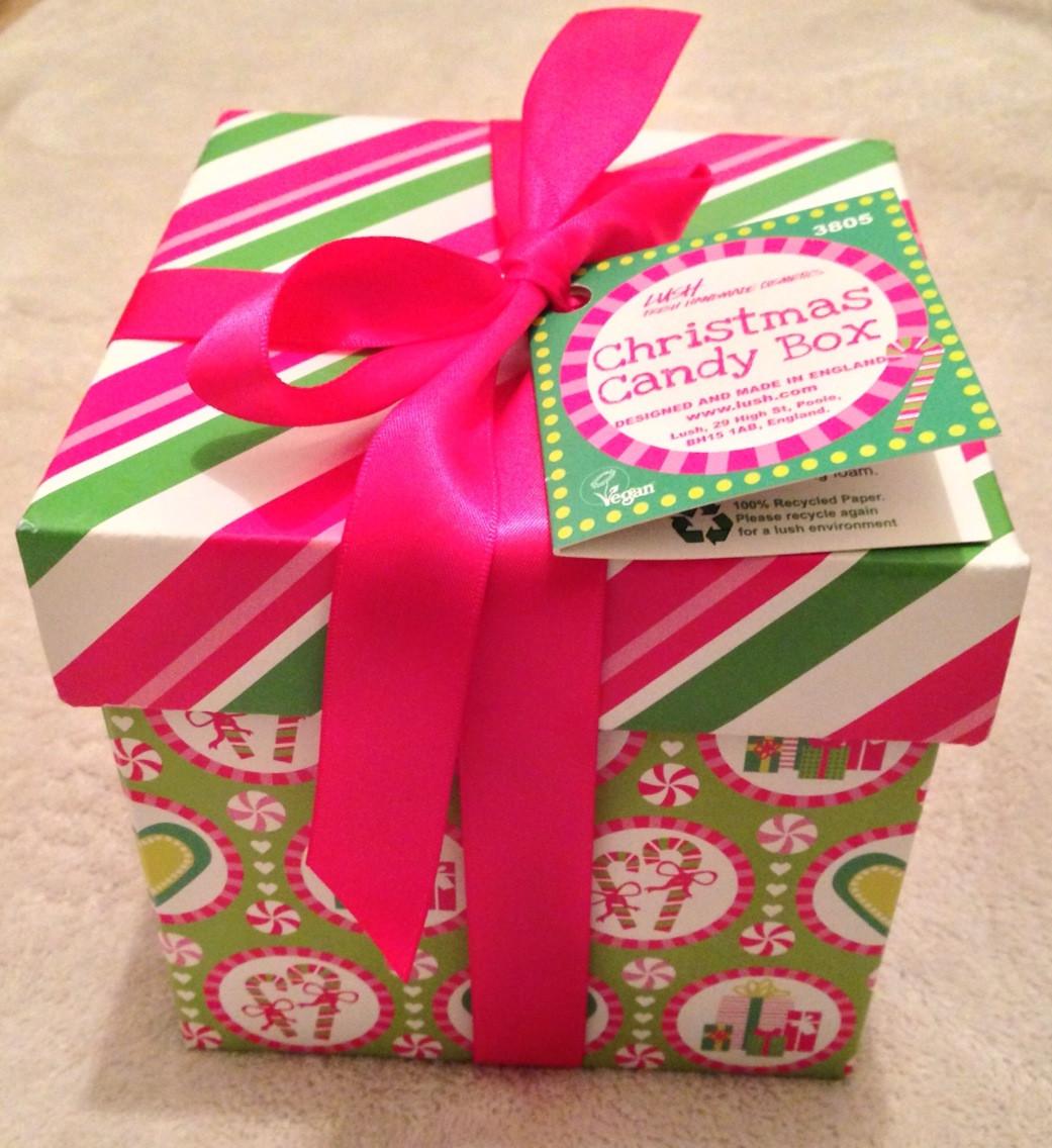Christmas Candy Boxes  Lush Christmas Candy Box