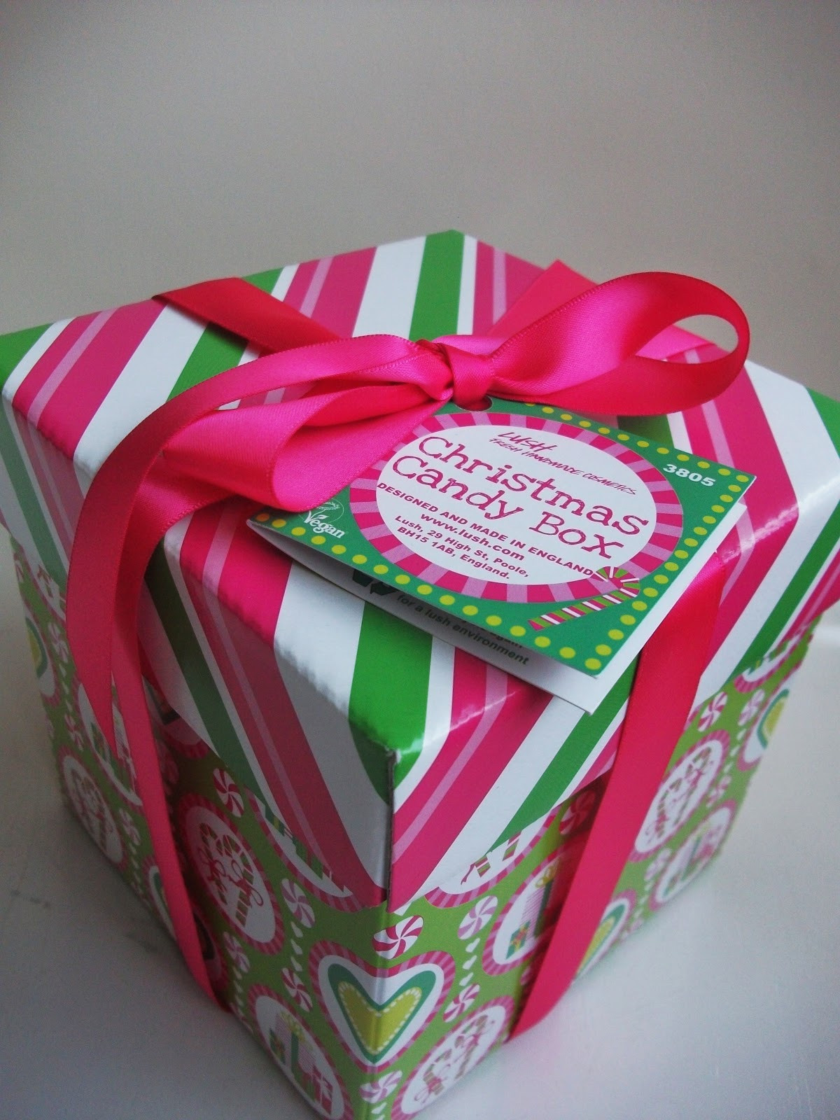 Christmas Candy Boxes  Glitter And Sparkle The Lush Christmas Candy Box